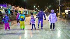 Каток в Парке Горького можно будет посетить по «Тройке»