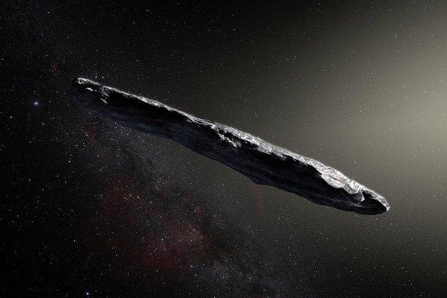 Астероид Оумуамуа