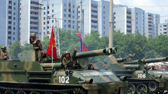 КНДР проведет военный парад за день до Олимпиады