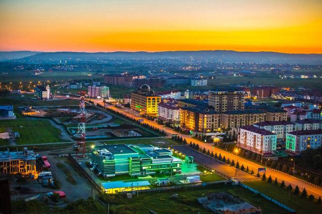 Столица Ингушетии лидирует по международной активности