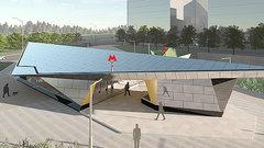 В Москве появится станция метро в стиле оригами