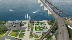 В Новосибирске депутаты не смогли полностью оценить проект четвертого моста через Обь