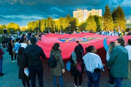 Региональная программа Всемирного фестиваля молодежи и студентов в Оренбурге